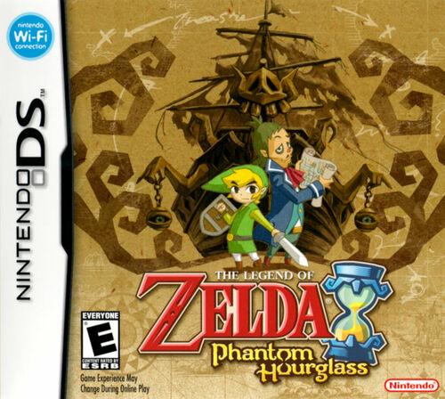 Cover for The Legend of Zelda: Phantom Hourglass.