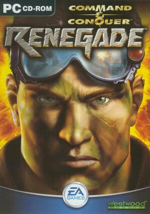 Cover for Command & Conquer: Renegade.