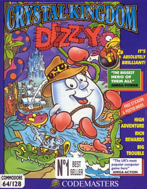 Cover for Crystal Kingdom Dizzy.