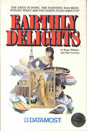 Cover for Earthly Delights.
