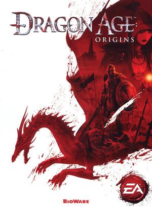Cover for Dragon Age: Origins.