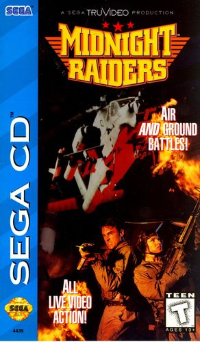 Cover for Midnight Raiders.