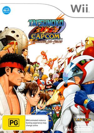 Cover for Tatsunoko vs. Capcom: Ultimate All-Stars.