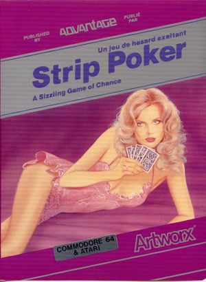 Cover for Strip Poker: A Sizzling Game of Chance.