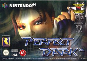 Cover for Perfect Dark.