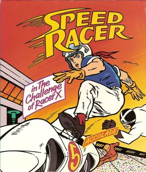 Cover for Speed Racer in The Challenge of Racer X.