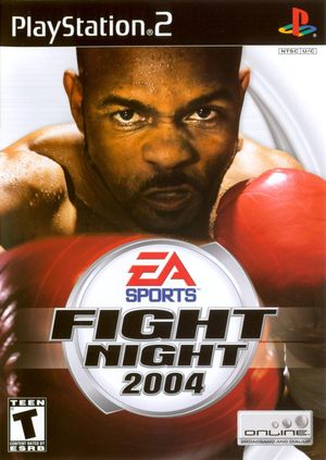 Cover for Fight Night 2004.