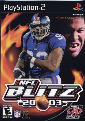 Cover for NFL Blitz 20-03.