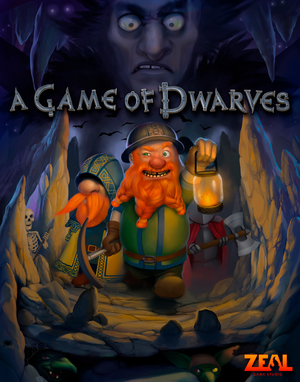 Cover for A Game of Dwarves.