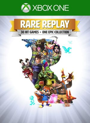 Cover for Rare Replay.