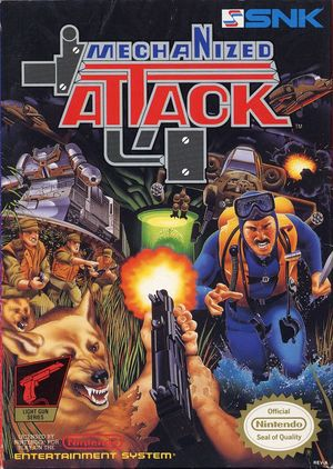 Cover for Mechanized Attack.