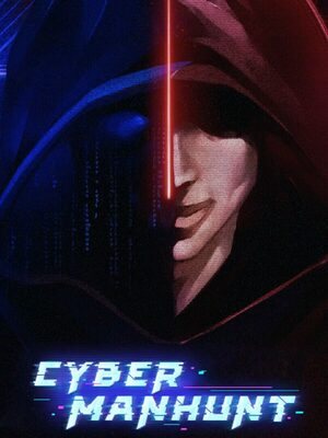 Cover for Cyber Manhunt.