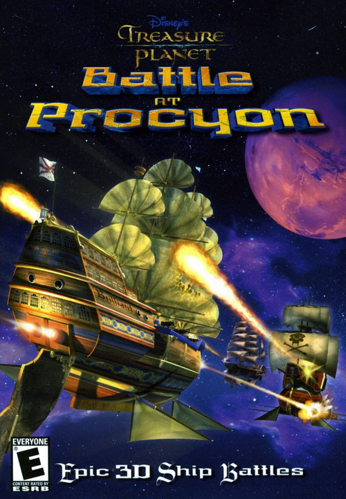 Cover for Treasure Planet: Battle at Procyon.