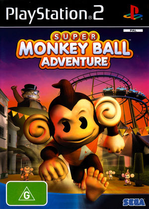 Cover for Super Monkey Ball Adventure.