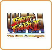 Cover for Ultra Street Fighter II: The Final Challengers.