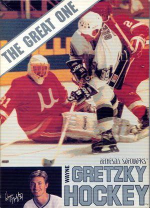 Cover for Wayne Gretzky Hockey.