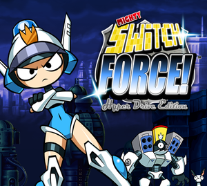 Cover for Mighty Switch Force!.