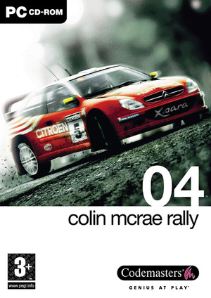 Cover for Colin McRae Rally 04.