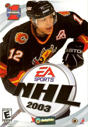 Cover for NHL 2003.