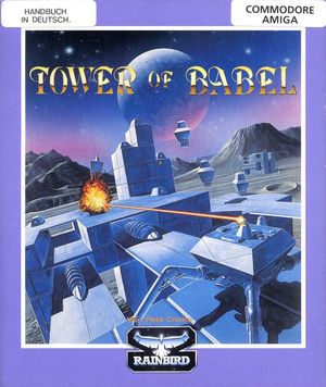 Cover for Tower of Babel.