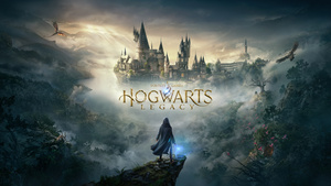 Cover for Hogwarts Legacy.