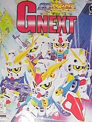 Cover for SD Gundam: G Next.