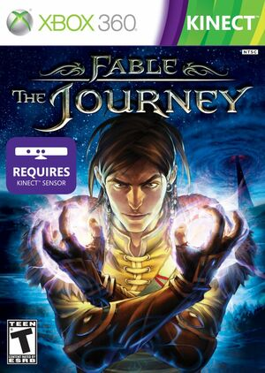 Cover for Fable: The Journey.