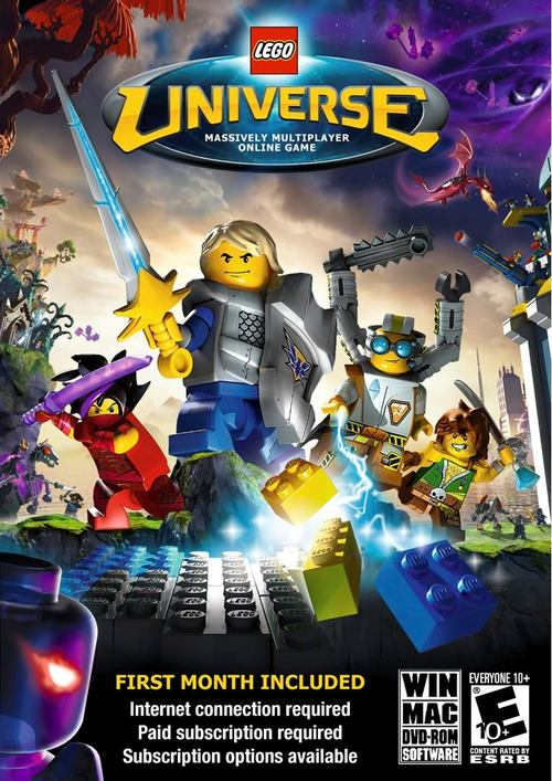 Cover for Lego Universe.