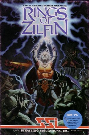 Cover for Rings of Zilfin.