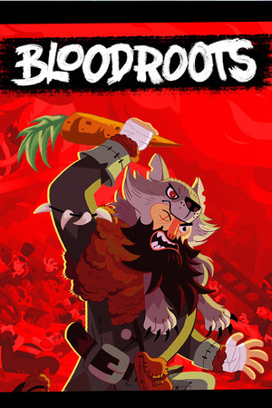 Cover for Bloodroots.