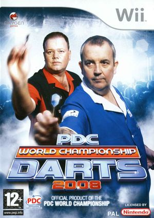Cover for PDC World Championship Darts 2008.