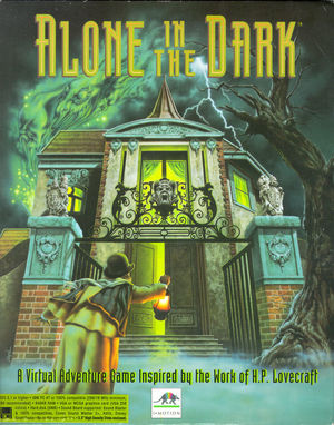 Cover for Alone in the Dark.