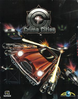 Cover for Crime Cities.