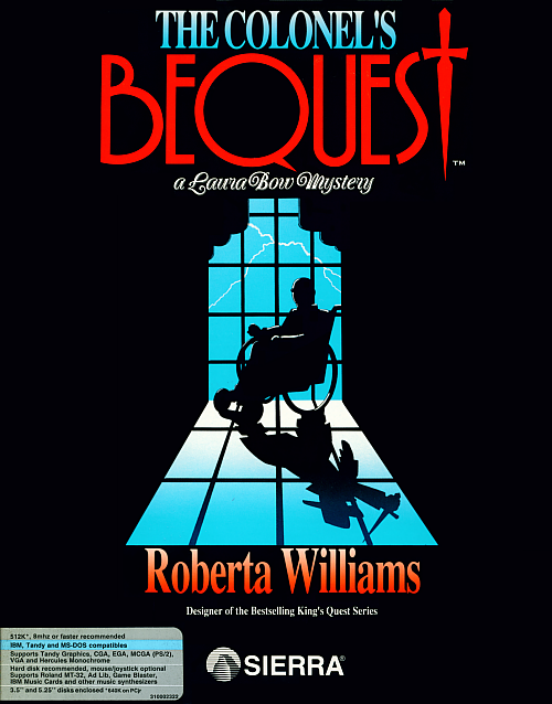 Cover for The Colonel's Bequest.