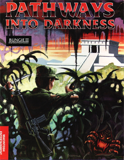 Cover for Pathways into Darkness.