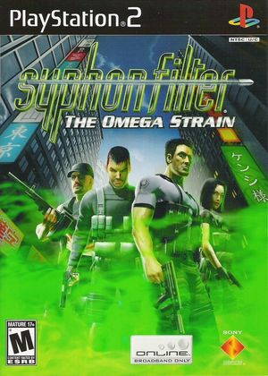 Cover for Syphon Filter: The Omega Strain.