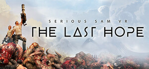 Cover for Serious Sam VR: The Last Hope.