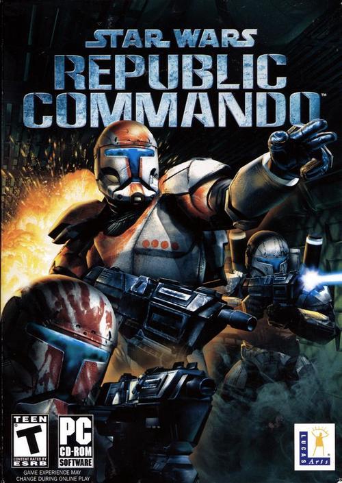 Cover for Star Wars: Republic Commando.