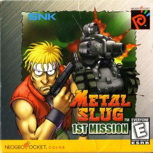 Cover for Metal Slug 1st Mission.