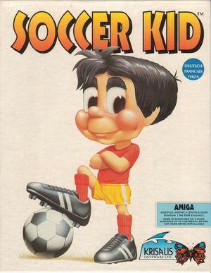 Cover for Soccer Kid.