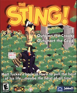 Cover for The Sting!.