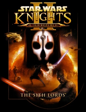 Cover for Star Wars: Knights of the Old Republic II – The Sith Lords.