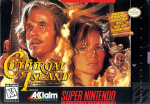 Cover for Cutthroat Island.