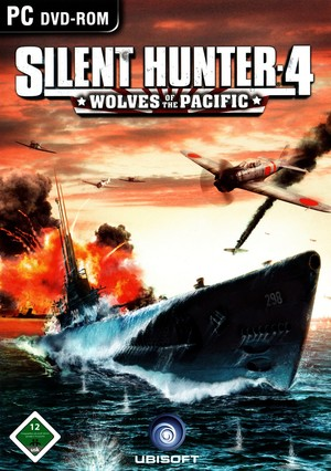 Cover for Silent Hunter 4: Wolves of the Pacific.