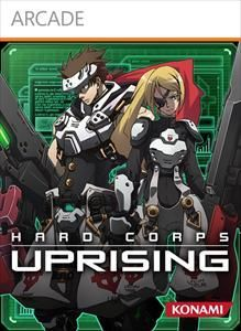 Cover for Hard Corps: Uprising.