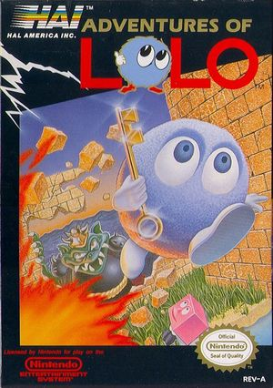 Cover for Adventures of Lolo.