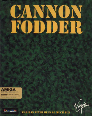 Cover for Cannon Fodder.