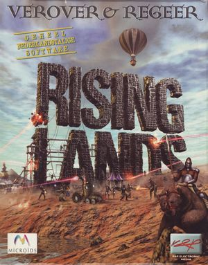 Cover for Rising Lands.