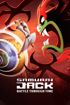 Cover for Samurai Jack: Battle Through Time.