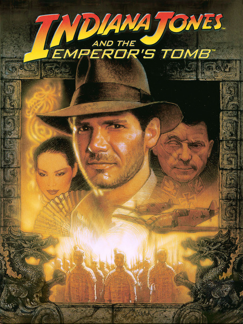 Cover for Indiana Jones and the Emperor's Tomb.
